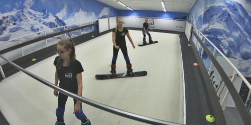 Se snowboardovou přípravou jsme začali včas v inski! Jsme připraveni na zimu! M., D. a D. z ČB