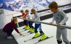 Učíme lyžovat děti z mateřských škol