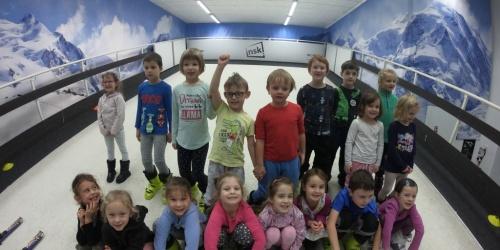 Děti z Větrné naplnily sjezdovku pravidelně i v úterý dopoledne!