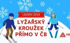 Nové termíny na kroužek lyžování - leden 2019!