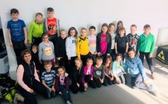 Návštěva ze základní školy Čéčova Nerudova