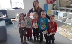 MŠ Pištín - děti si odnesly první medaile za lyžování!