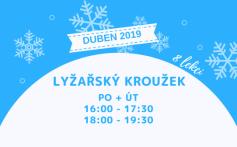 Od dubna 2019 otevíráme další kroužek lyžování pro děti!